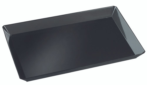 Quartz plate Black 185x130mm / 7.3 x 5.1'' (Case of 200 pc)