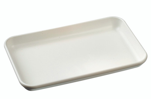 """Surface Plate white 160x100x17mm / 6.3x3.9x0.7"""" (Case of 160 pc)"""