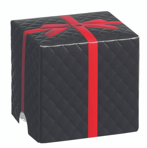 Padded gift cub black 160ml / 5.4 oz (Case of 100 pc)