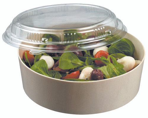 Laminated wooden bowl 450ml/15.2oz LID NOT INCLUDED (Case of 200 pc)