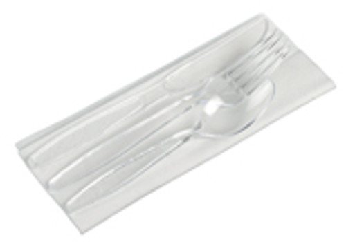 4/1 Transparent Cutlery set Luxe