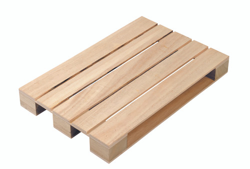 "Tray Pallet wood 11.8"" x 7.9"" x 1.4"" WB00202"