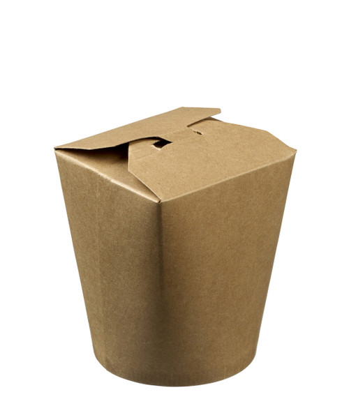 Noodle Small Kraft Box 16.9oz / 500ml (Case of 1000 pc)