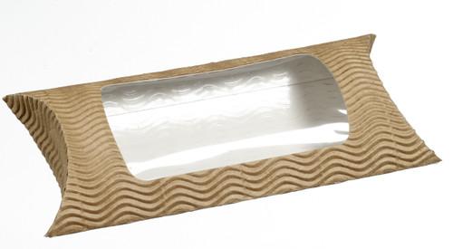 """Sandwich cardboard pocket with window 7.5"""" x 5.2"""" x 2.3"""" ES31015"""