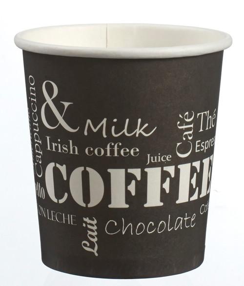 Hot expresso drink paper cup Break 100ml/3.4oz (Case of 2000 pc)