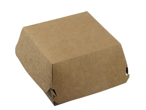 """Burger and Sandwich box 5.5""""x5.5"""" H2.8"""" (Case of 200 pc)"""