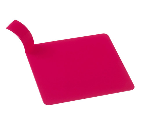 """Pastry square display fuchsia 3.1"""" x 3.1"""" / 80x80mm (Case of 1000 pc)"""