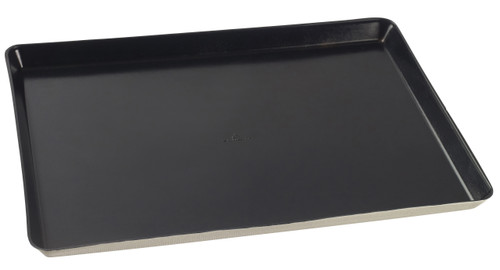 "Sugarcane Tray Kanopee with PLA Black coating Atlas 14.6""x10.6""x0.8"" / 372x268x20mm (Case of 100 pc)"