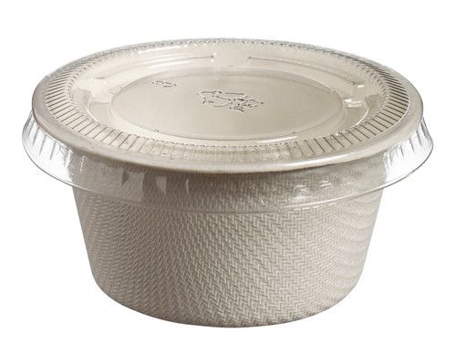 Lid PLA for sugarcane sauce cup VO57005 - SAUCE CUP NOT INCLUDED - (Case of 2000 pc)