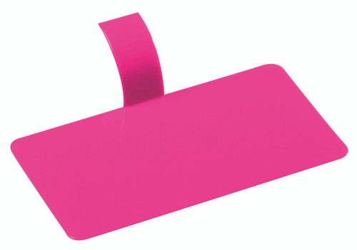 "Pastry Palet rectangle fuchsia 3.9"" x 2.2"" / 100 x 55mm (Case of 1000 pc)"
