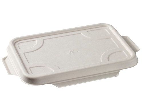 Sugarcane pulp Lid for Laminated container VF38440 ( (Case of 400 pc)