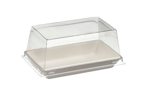 Lid PET Transparent for Quartz Bagasse plate VF45000c, VF45001c, VF45003c - PLATES NOT INCLUDED - (Case of 400 pc)