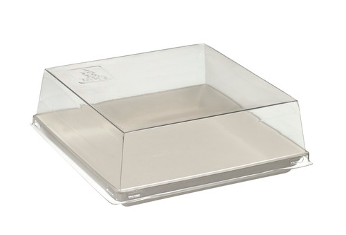 PET Transparent for Quartz Bagasse plate VF45020 , VF45021 - PLATES NOT INCLUDED - (Case of 200 pc)
