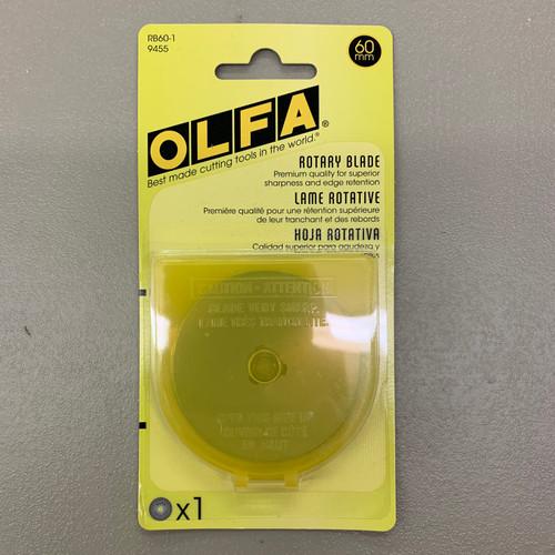 Olfa 60mm Rotary Blade Refill