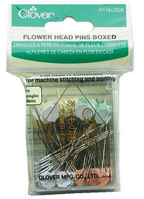 Flower Head Pins Boxed 100 count