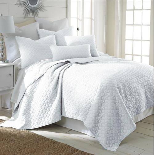 Bordeaux Quilt Set White - Full/Queen