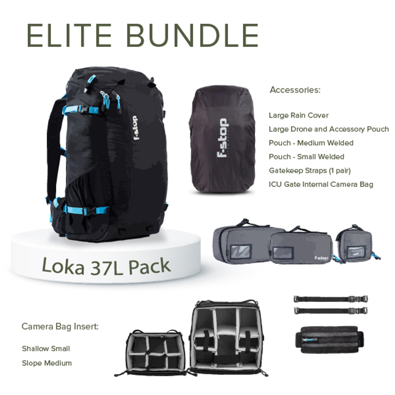 LOKA UL - 37 Liter Travel and Adventure Camera Backpack