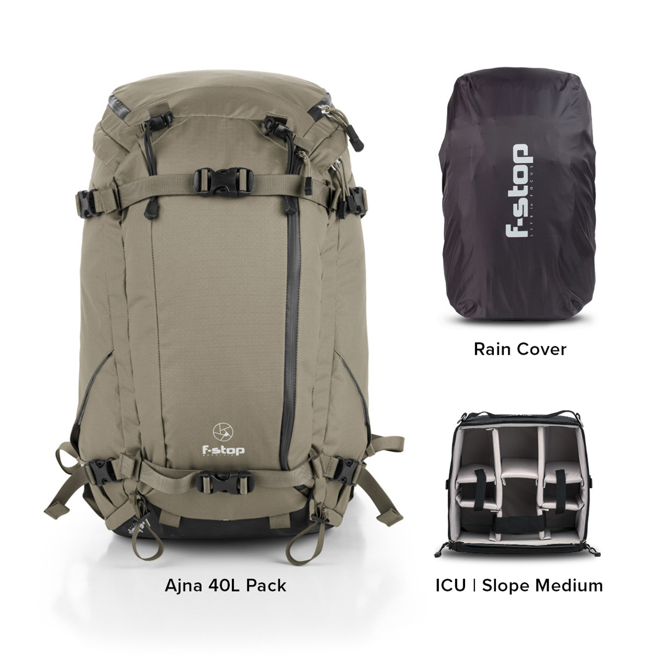 Ajna - 40 Liter Backpack Essentials Bundle