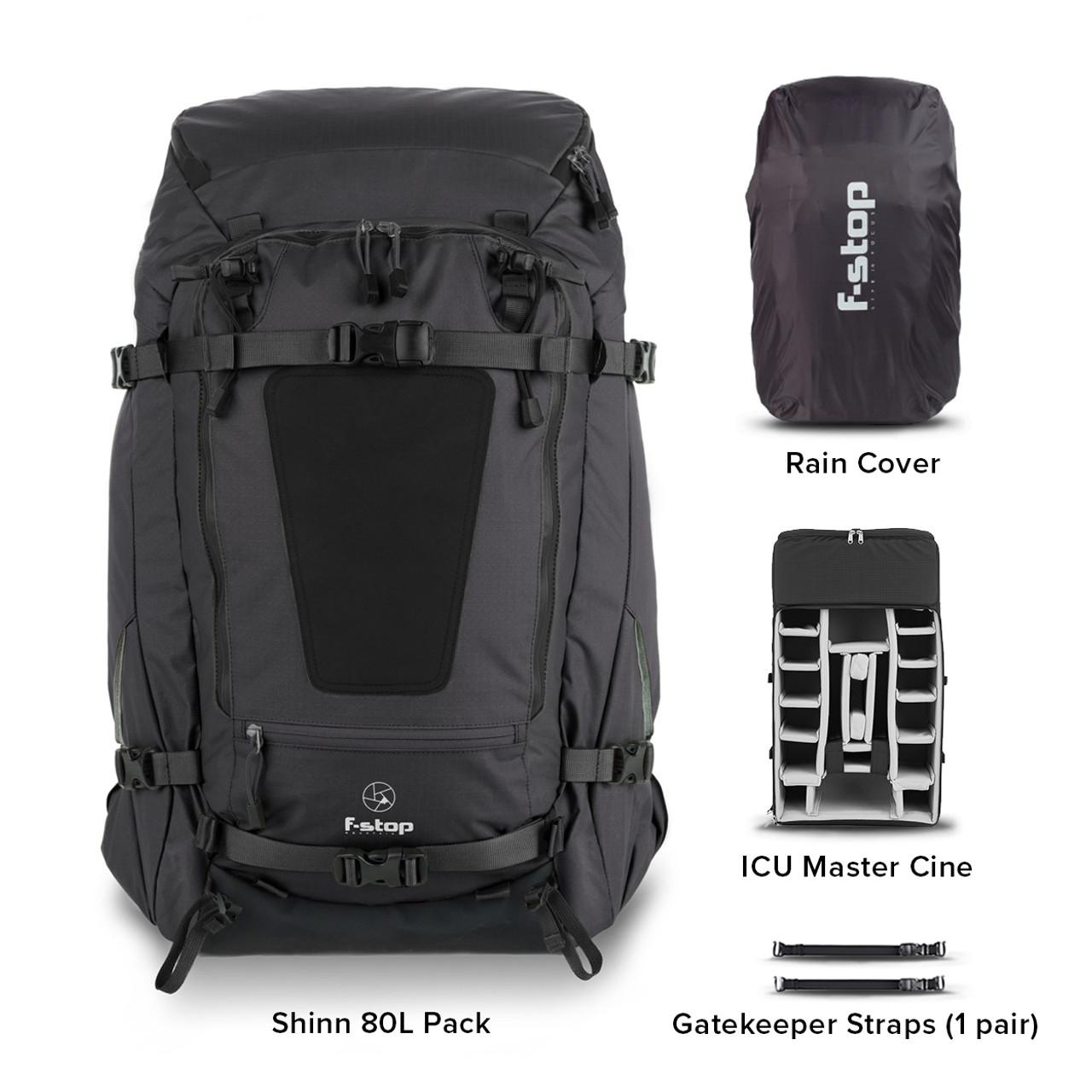 Shinn 80L Camera Backpack Essentials Bundle
