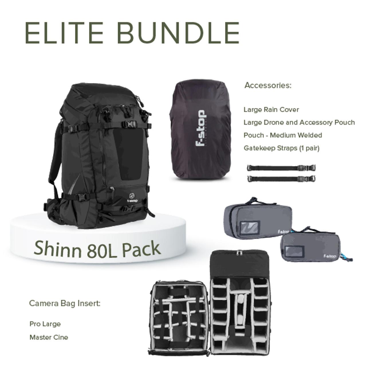 Shinn 80L Camera Backpack Elite Bundle