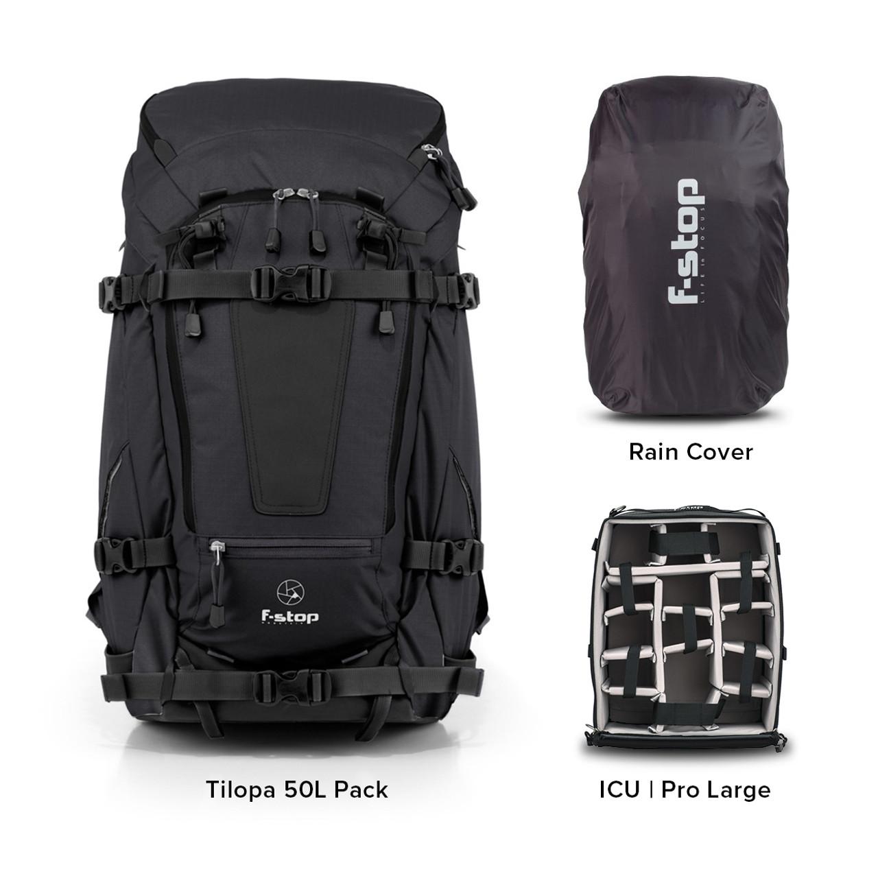 TILOPA - 50 Liter Backpack Essentials Bundle