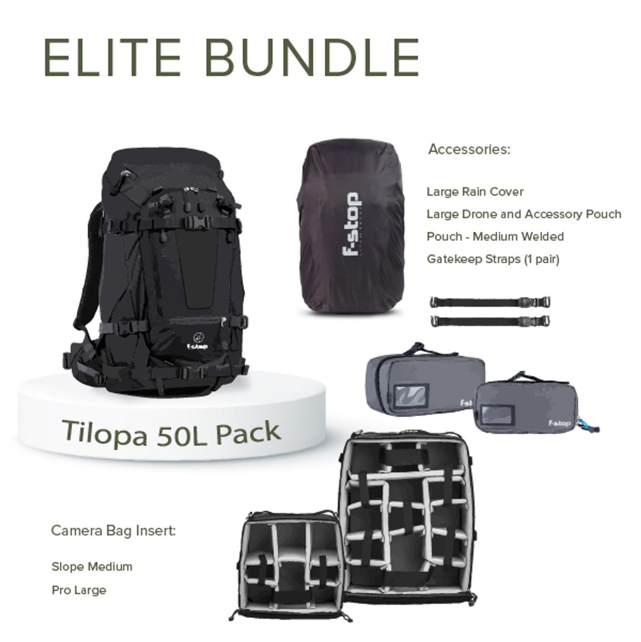 TILOPA - 50 Liter Backpack Elite Bundle