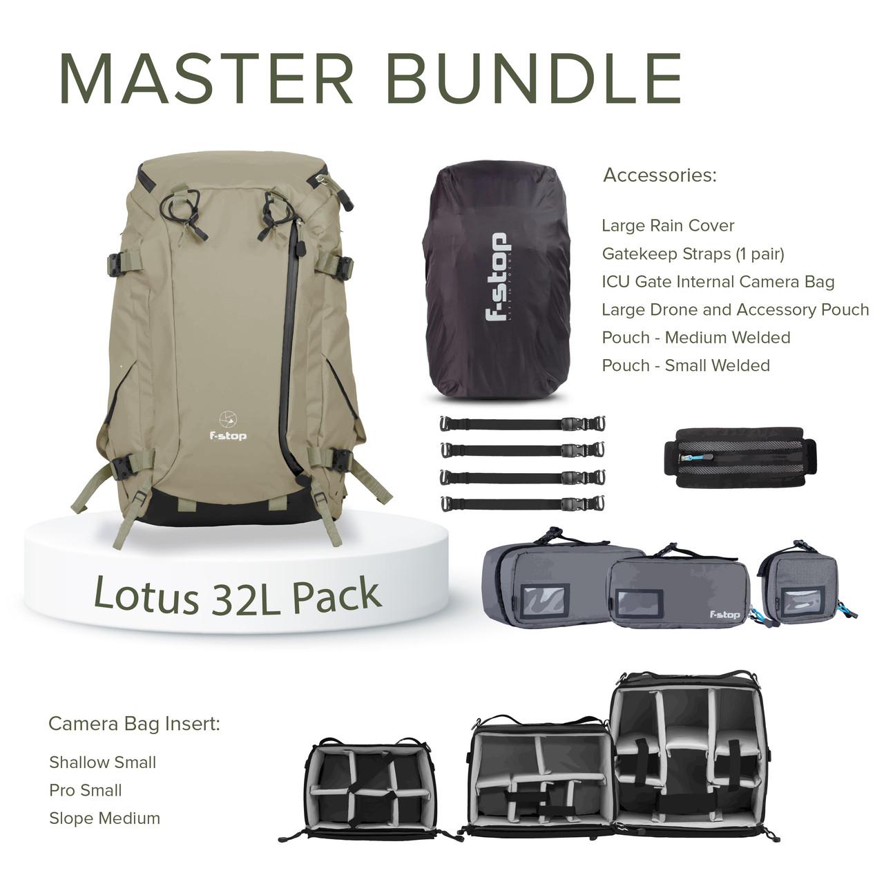 Lotus 32 Liter Backpack Master Bundle