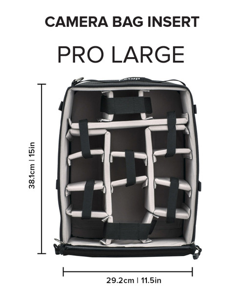 f-stop ICU (Internal Camera Unit) - Pro Large Camera Bag Insert and Cube