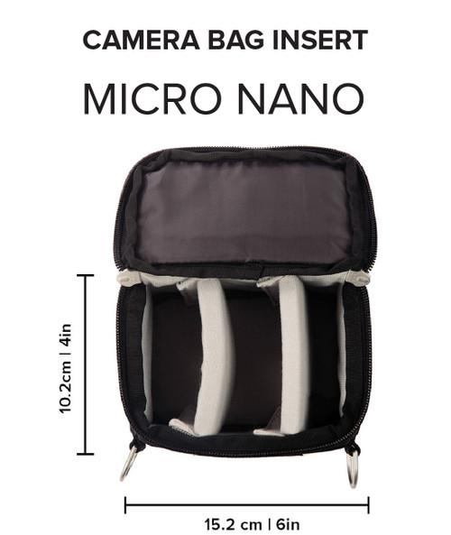 f-stop ICU (Internal Camera Unit) - Micro Nano Camera Bag Insert and Cube