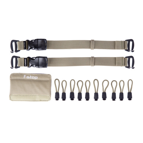 f-stop - Color Kit - Includes Gatekeepers, Zipper Pulls, Handle Wrap - Aloe