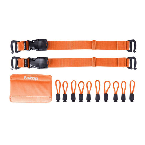 f-stop Color Kit , Guru UL, Gatekeepers, Zipper Pulls, Handle Wrap, Nasturtium