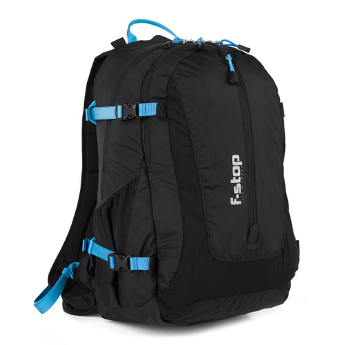 GURU 25L capacity adventure and travel camera backpack, pack or camera bag, lightweight, essential bundle