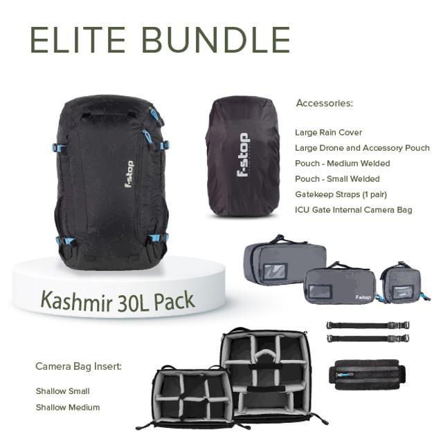 KASHMIR UL - 30 Liter Travel and Adventure Camera Backpack