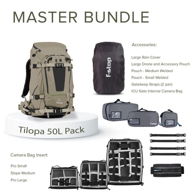 TILOPA - 50 Liter Backpack Master Bundle