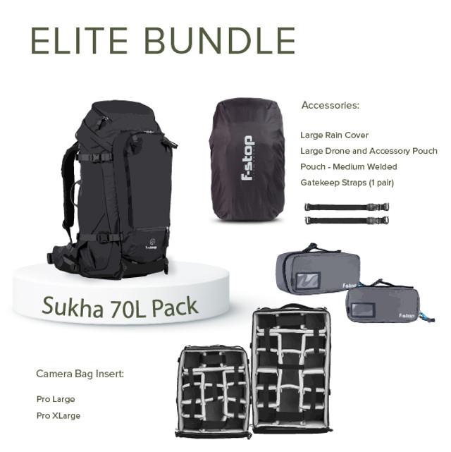 SUKHA - 70 Liter Backpack Elite Bundle