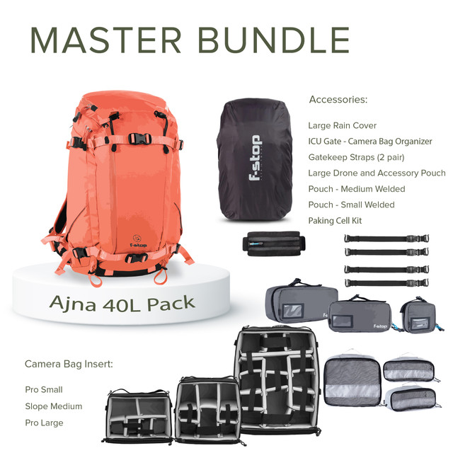 Ajna - 40 Liter Backpack Master Bundle