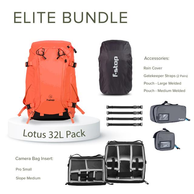 Lotus 32 Liter Backpack Elite Bundle