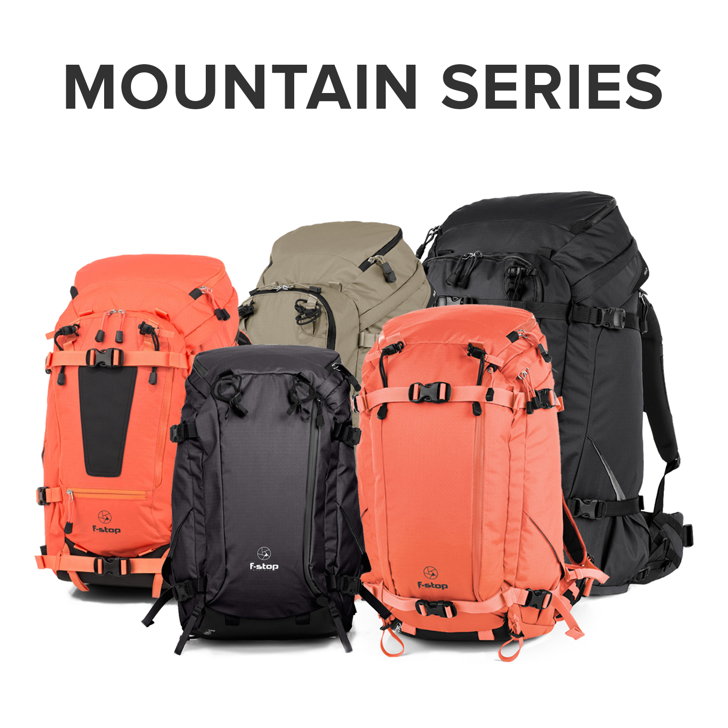 f-stop mountain series camera backpacks