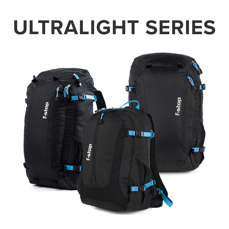f-stop Ultra-light camera packs