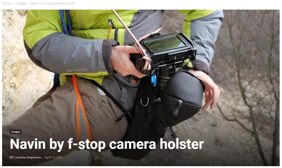 f-stop navin camera holster