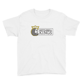 youth kettlebell shirt, kid's kettlebell shirt