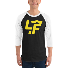 Gold LF 3/4 sleeve raglan shirt