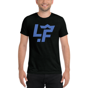 Blue LF Short sleeve t-shirt
