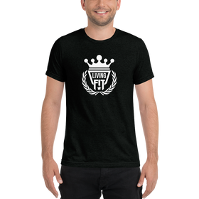 Living.Fit Crown White Short sleeve t-shirt