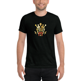Living.Fit Gold Crown Short sleeve t-shirt