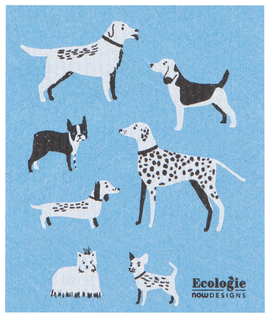 Dog Days Swedish Dishcloth Kuriosities