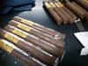 Bacardi Grand Reserve 10 YR & 8 YR Gift Set w/ Humidor and Cigars