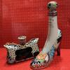 Teky Lady's Tequila Añejo High Heel and Purse Set Each 375mL - 3