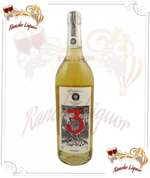 123 Certified Organic Anejo 750mL