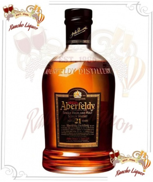 Aberfeldy 21 Year Single Malt Scotch Whisky